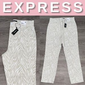 NEW Express Super High Rise Slim Ankle Jeans; 12R